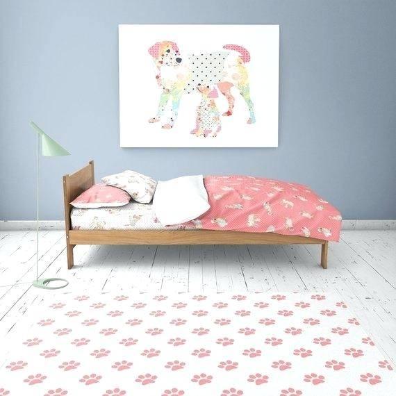 paw  print rug