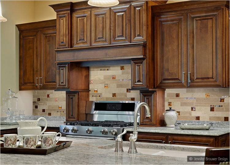 Adorable White  Color Subway Tile Kitchen Backsplash Come With Led Rope Lights Under Kitchen