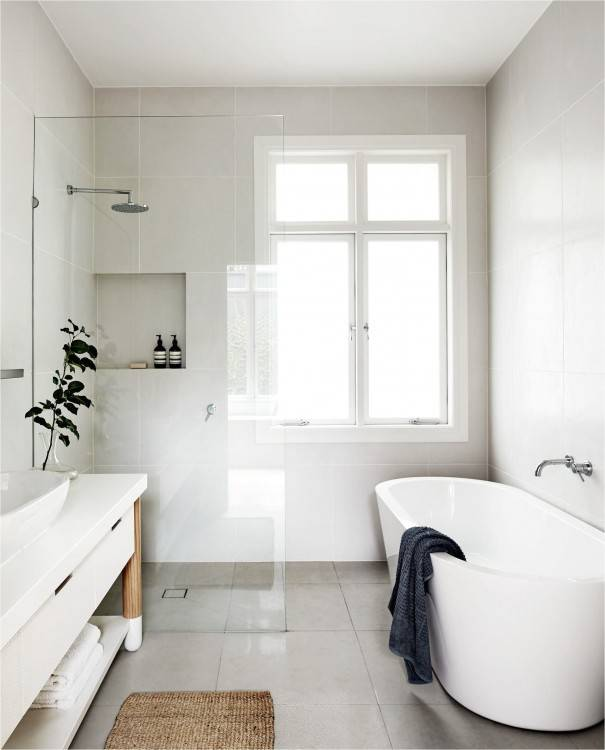 People don't  spend a lot of time in the bathroom, but they want it to be functional and