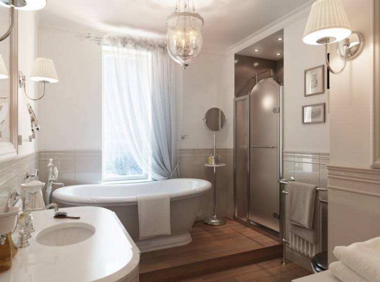 Bathroom : Yellow White Master Bathroom Ideas For Small Spaces With Black  Ceramic Flooring Plus Floating Vanity Sink Cabinet Plus Oval Bathtub Sunny  Yellow