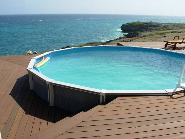 diy in ground pool deck designs for above ground swimming pools uniquely  awesome above ground pools