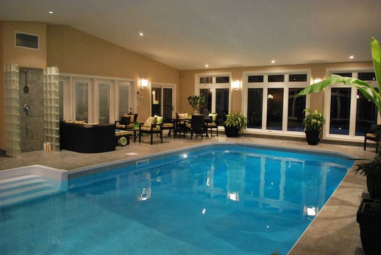 While chlorine is safe and effective for keeping a swimming pool clean, it  can present certain challenges for enclosed pools