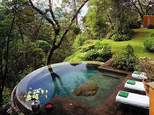 pool landscaping pictures florida beautiful designs