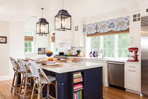 Blue And White Kitchen Decor Brilliant Fresh Navy Decorating Ideas 2018  Pertaining To 8