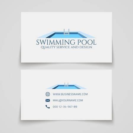 Pool swim symbol