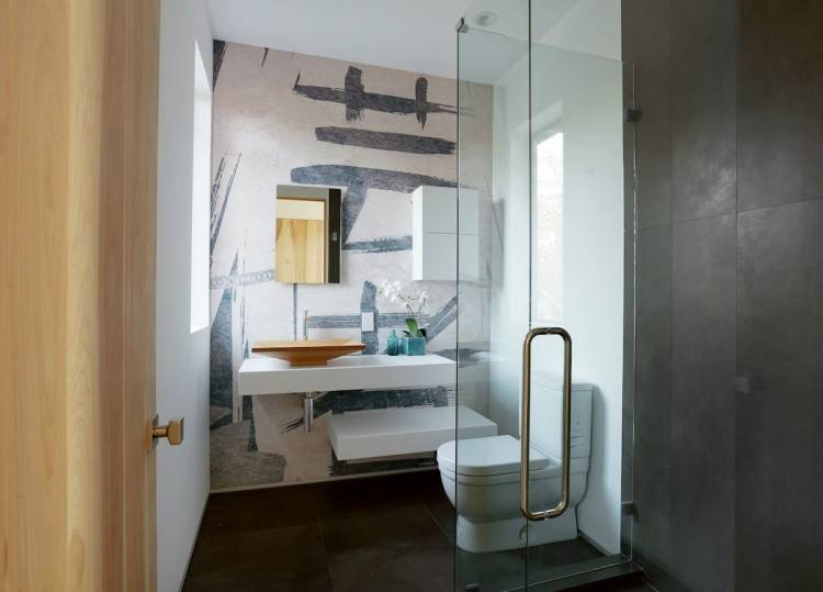 Small bathrooms can be a design