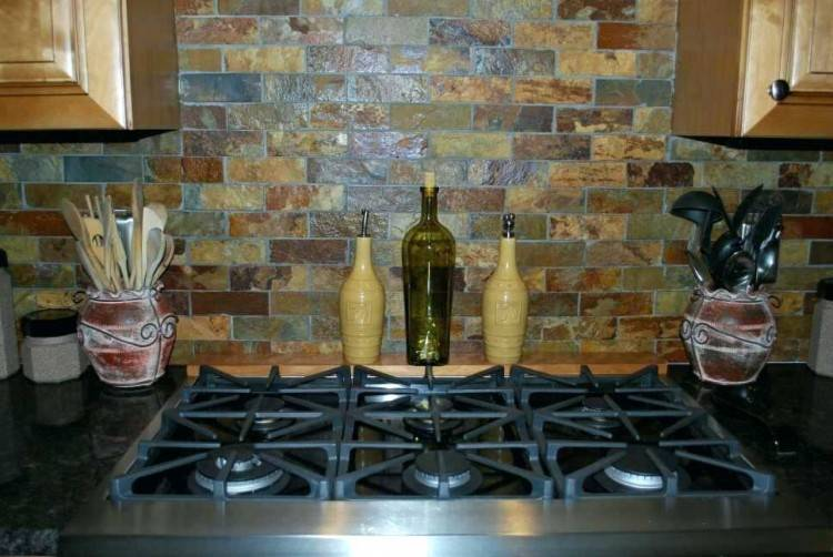 natural  stone tile backsplash flooring