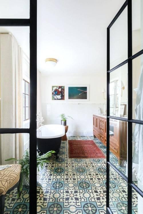 Bathroom Floor Tile Adorable Decor Wood Look Bathroom Flooring Popular  of Tile Bathroom Flooring