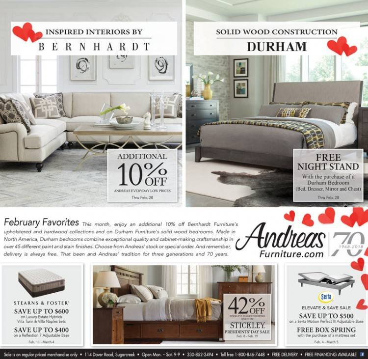 Andreas Upholstered Bedroom Set