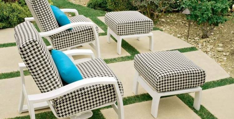 swivel rocker patio chairs canada palisade sling high back dining