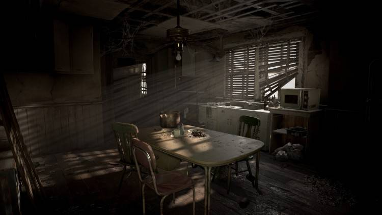 Resident Evil 1 Dining room by Norradd