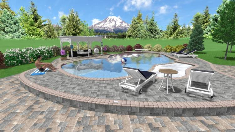 inground pool landscape swimming pool landscaping ideas pools design  pictures pool landscaping design ideas inground pool