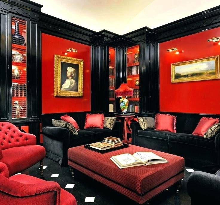 Black White Red Dining Room Bedroom And Decor Living Decorating Ideas