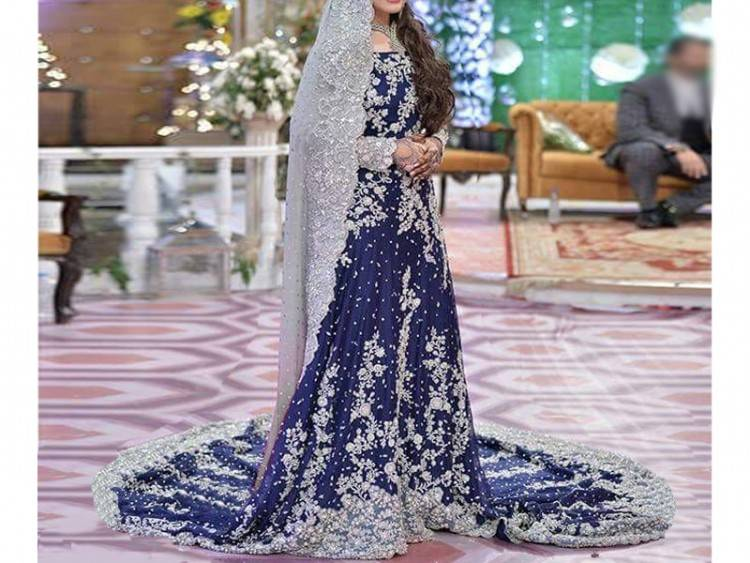 Girls Indian Pakistani Anarkli Long Maxi Dress Wedding Length 46