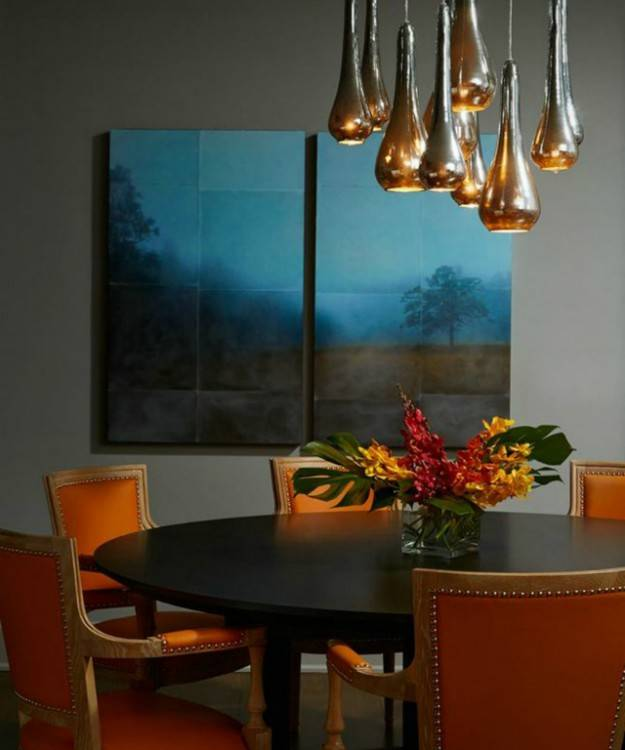 Many people think they cannot decorate a dining room beautifully  unless they