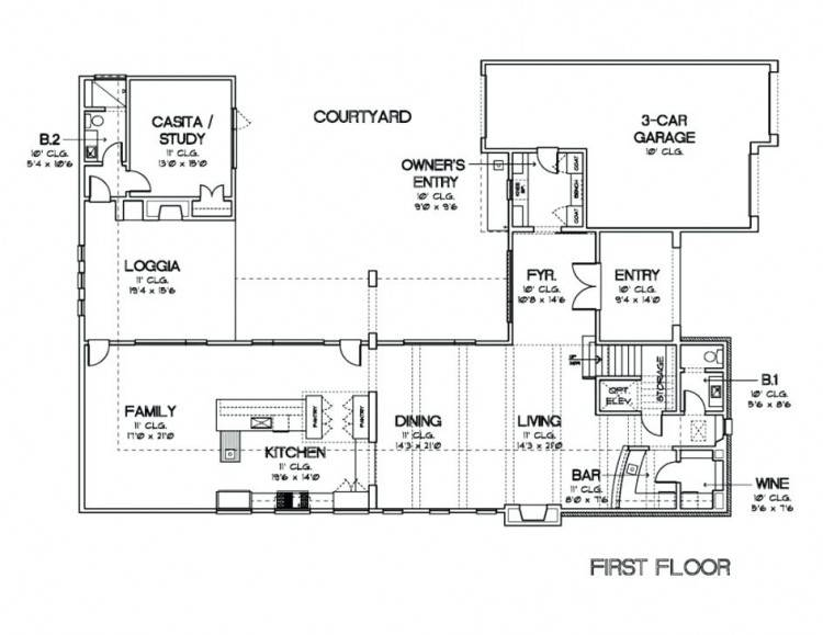 u shaped house plans darts design com modern courtyard house plans u shaped  on courtyard house