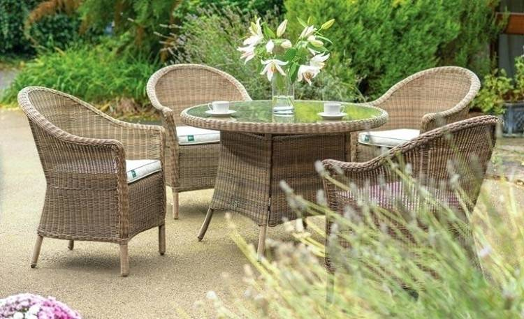 While wicker patio furniture is light, colorful, and allows air  circulation, it is not naturally weatherproof