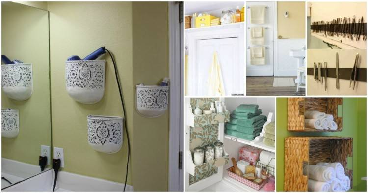 Ideas for wrangling all that clutter underneath your bathroom sink