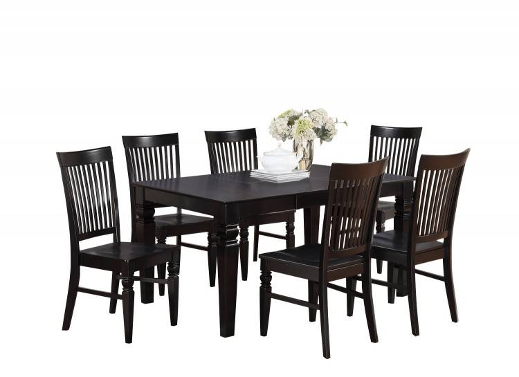 Thornton Russet 7 Piece Counter Height Dining Room Set