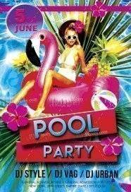 pool party flyer template free download parlo buenacocina co