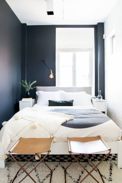 Grey Paint Colors for Bedrooms Elegant A Small Space Painting Trick  that Makes Rooms Look R