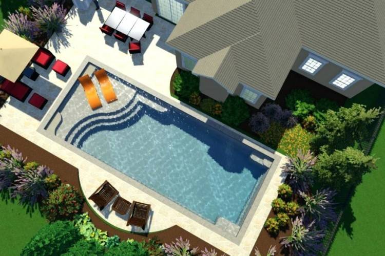 Look below for some dimensions of our most popular pools