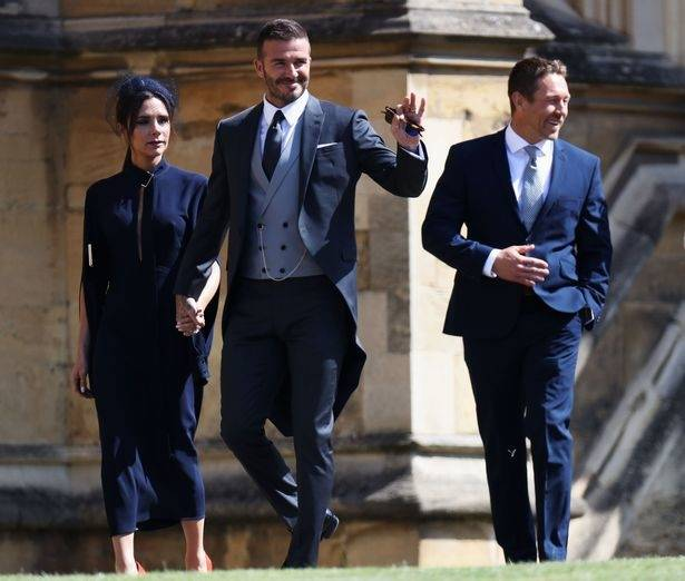Proving that royal status doesn't just end with Beckingham Palace, David  and Victoria also managed to bag an invitation to the Kate and Wills' royal  wedding