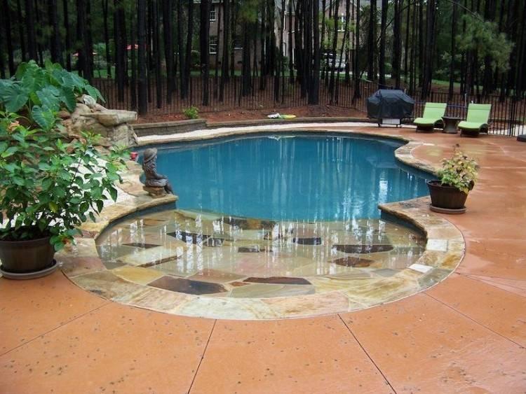 poolside bar design ideas backyard landscape Unique pool