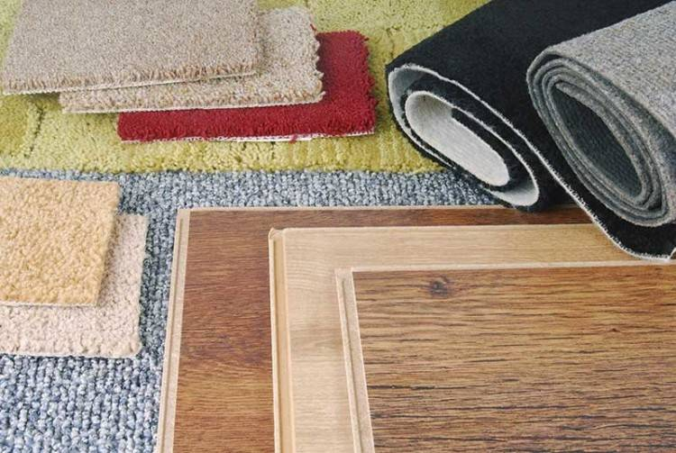 Compare carpet, hardwood flooring, laminate floors, ceramic tile, and other flooring  types to decide what works best for you