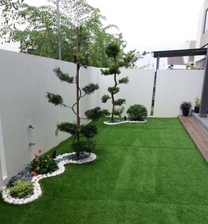 home garden ideas garden design front of house front house gardening ideas  minimalist small home garden
