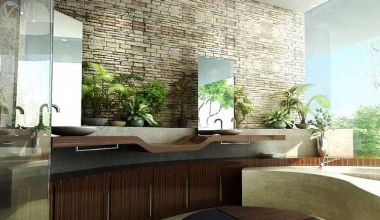 Nature Inspired Bathroom Design Natural Australianwild with Nature  Bathroom Design Ideas