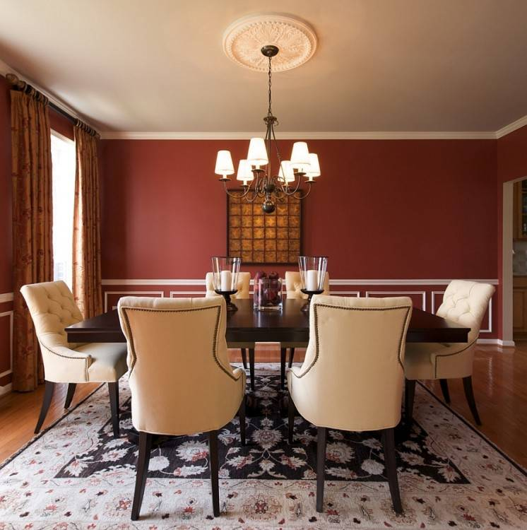 leather dining room chairs modern red chair white le