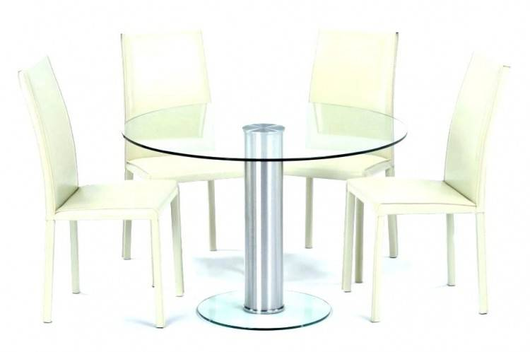 Dining Room Table Coricraft With 6 White Leather Chairs In Excel Cond