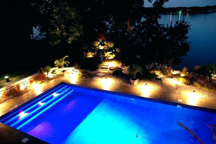 pool enclosure lighting