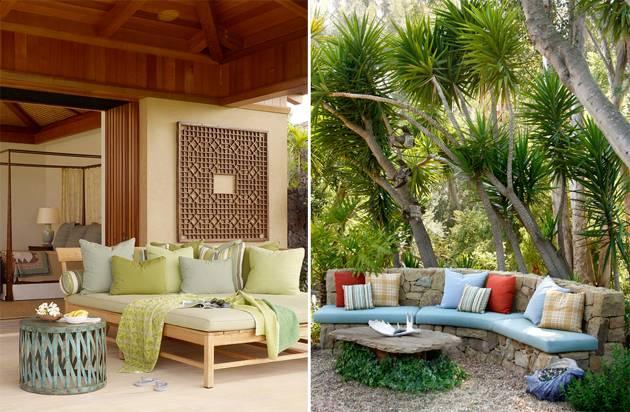 diy outdoor furniture garden ideas for patio or deck using pallets