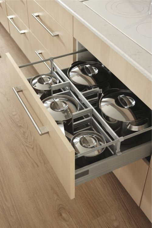 kitchen design no upper cabinets and drawers