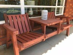 redwood  patio furniture