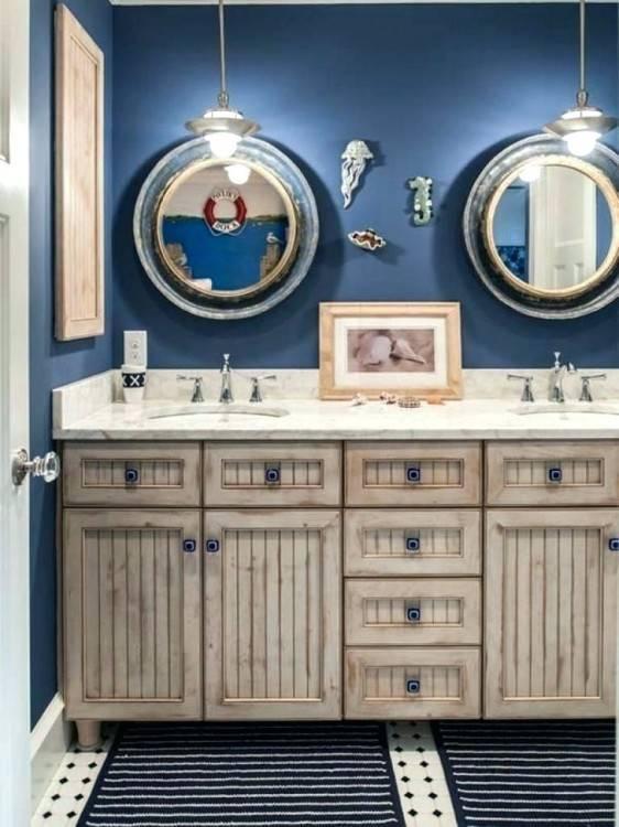 nautical themed bathroom decor