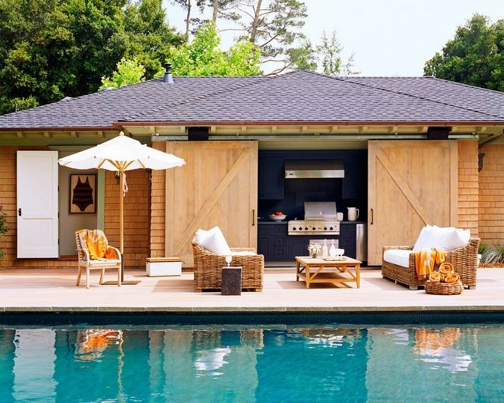 backyard cabana bar ideas pool for swimming designs buil