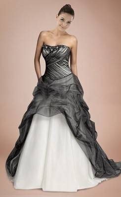 Full Size of Wedding Dress Black Wedding Outfits Black And White Long  Sleeve Wedding Dresses Dark
