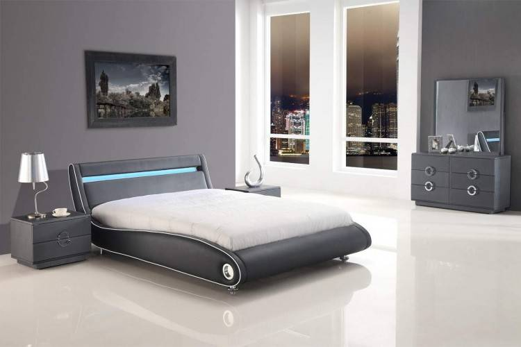 2019 Cheap French Bed Leather Bed 1