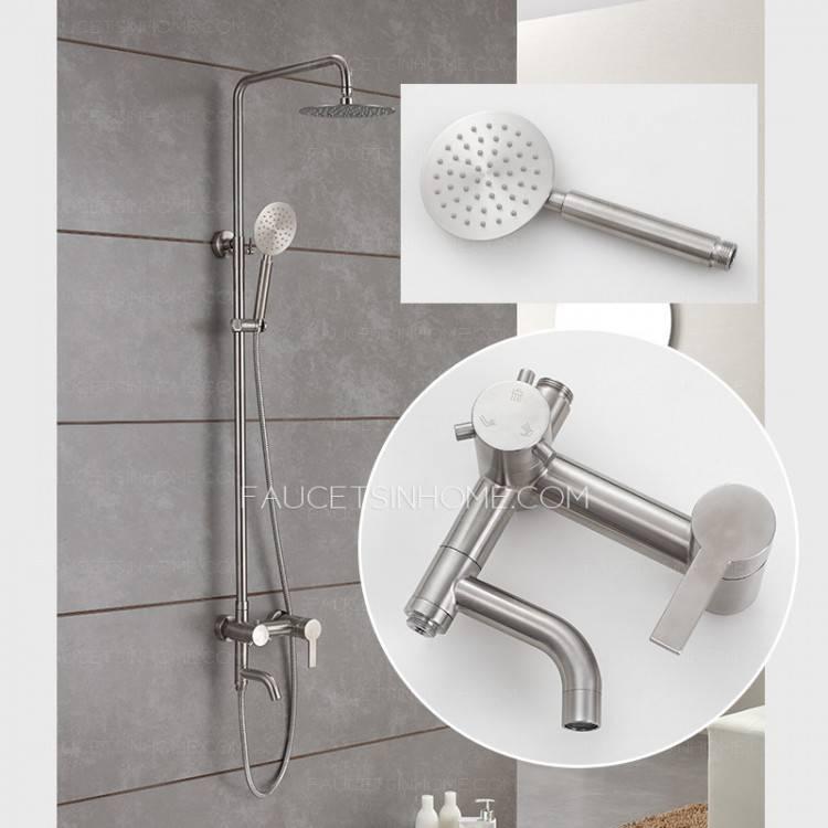 lowes outdoor shower outdoor shower kit vinyl kits