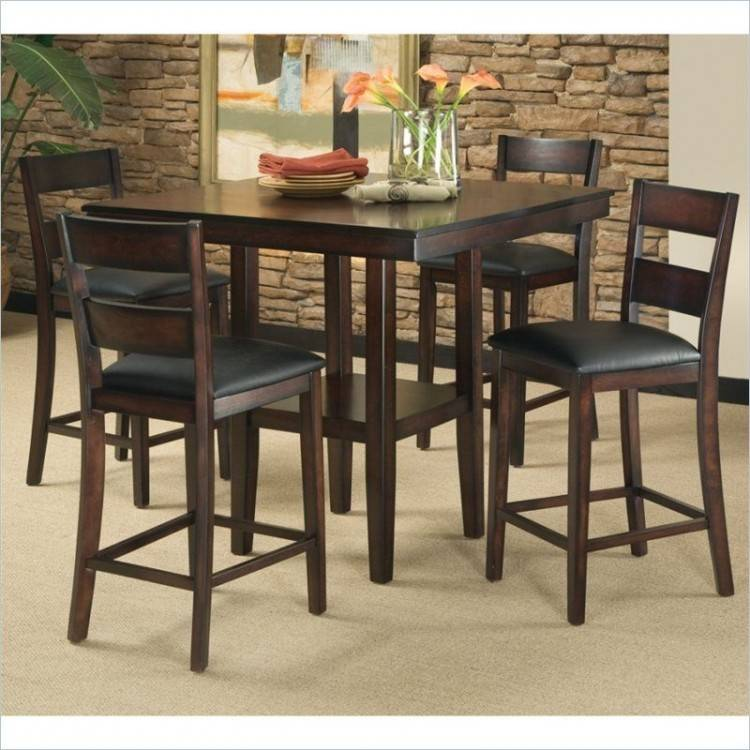 5Pc Dropleaf Dinette