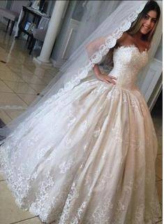 To be honest, looking at this makes me wonder if I really want a wedding  dress or something like this