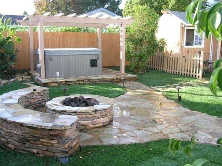 Backyard Patio With Pool Ideas Cool Backyards Without Pools Small Simple Back  Yard Landscaping Low Maintenance