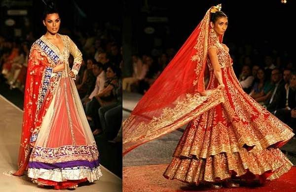 designer lehenga, sari wedding dress idea 2018 indian desginer manish  malhotra sbyasachi anushka sharma wedding