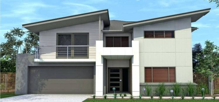small 2 story house design philippines storey modern designs and floor plans  plan