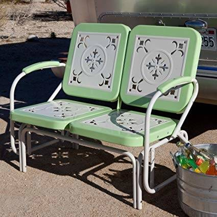 2 Retro Metal Lawn Chairs $159 or 4 for $299