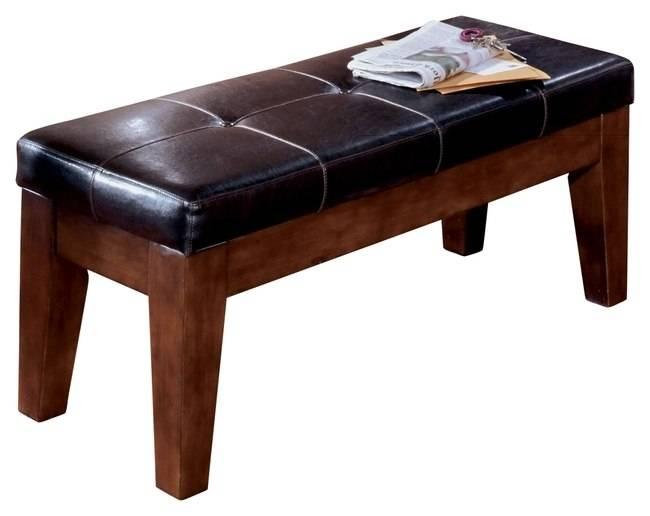 Ashley Furniture Signature Design Larchmont Upholstered Barstool 19