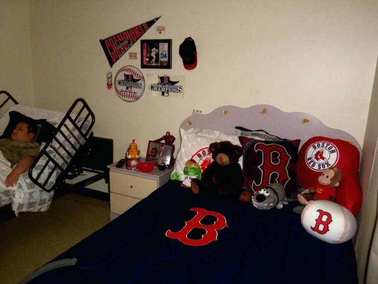 Red Sox Room Ideas
